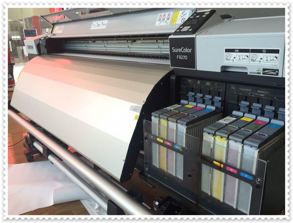 เครื่องพิมพ์เสื้อ, เครื่องพิมพ์ผ้า, เครื่องพิมพ์ผ้าม้วน,Epson F7270, Epson Sublimation Printer, เครื่องพิมพ์ซับลิเมชั่น, เอปสัน F7270