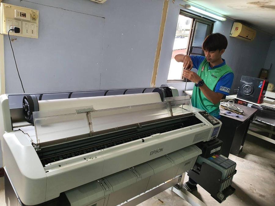 inkspa khonkaen เครื่องสกรีน เครื่องพิมพ์เสื้อ เครื่องพิมพ์ผ้า เอปสัน