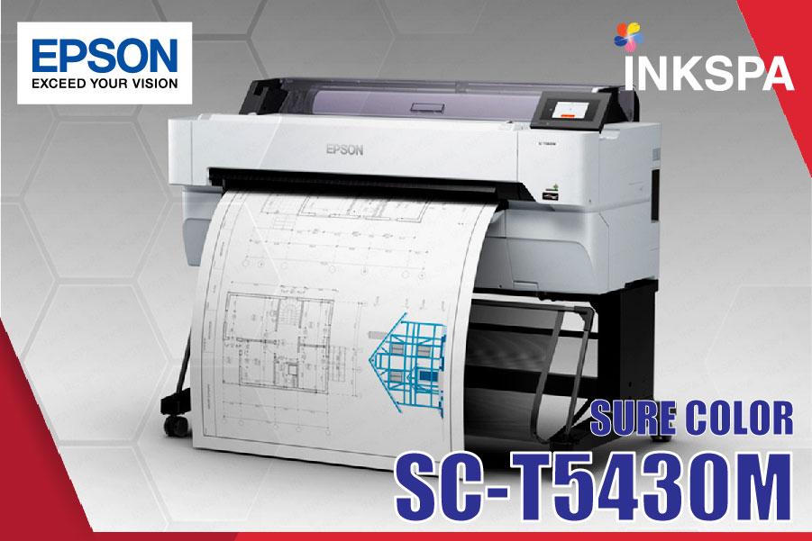 epson t5430m เครื่องพิมพ์ cad เครื่องพิมพ์แบบแปลน เครื่องสแกน เครื่องพิมพ์แพทเทิร์นเสื้อ เครื่องพิมพ์โปสเตอร์