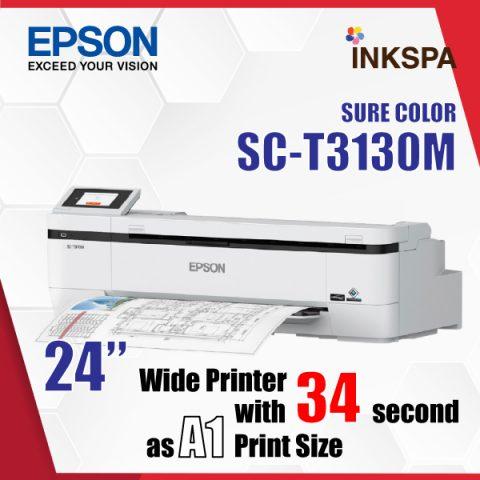 epson t3130m เครื่องพิมพ์ cad เครื่องพิมพ์แบบแปลน เครื่องสแกน เครื่องพิมพ์แพทเทิร์นเสื้อ เครื่องพิมพ์โปสเตอร์